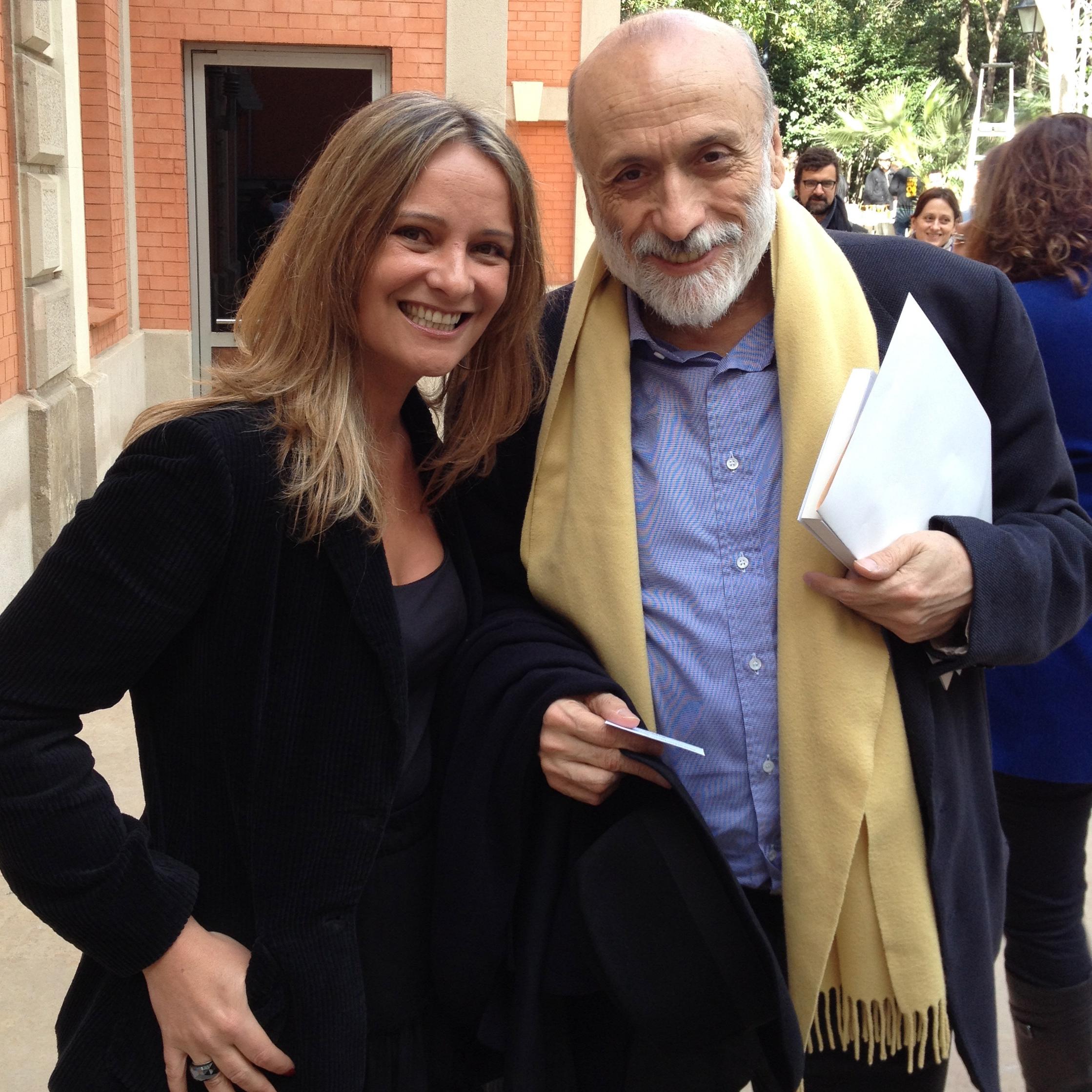 Carlo Petrini y Eva Ballarin @km0SlowFood